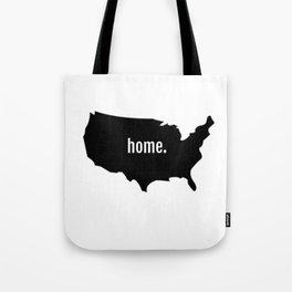 Home T Shirt Tote Bag