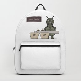 bug as a inspector of quality Backpack