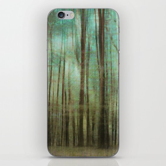 mystic forest iPhone & iPod Skin