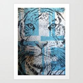 Tiger of Life Art Print
