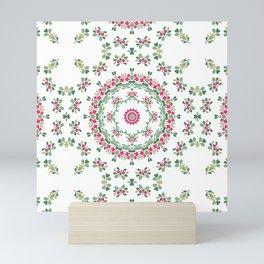 Ethnic floral ornament 2 Mini Art Print