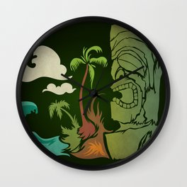 Surf Ku Wall Clock