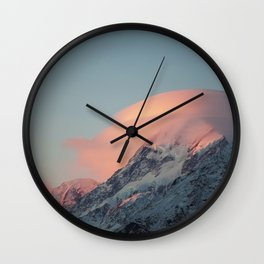 Aoraki/Mt Cook Wall Clock