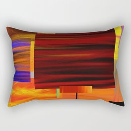 Square art Rectangular Pillow