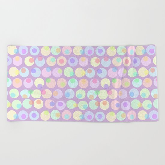 Pastel Abstracts 1 Beach Towel