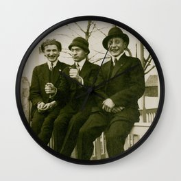 Harry, Herbert and Horace Wall Clock