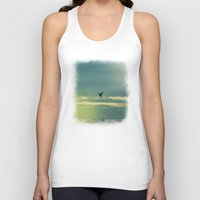 fly Tank Tops featuring Fly by Viviana Gonzalez