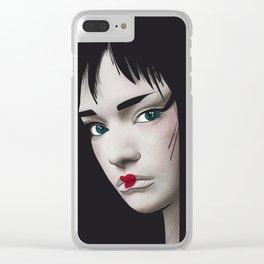 Geisha 2.0 Clear iPhone Case