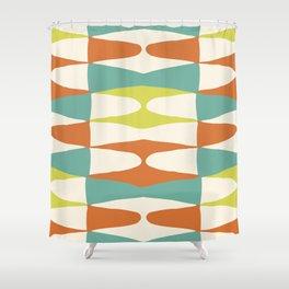 Zaha Lime Shower Curtain