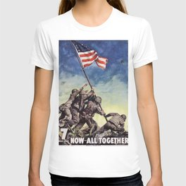 Raising the Flag on Iwo Jima T-shirt