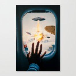 Alien Attack by GEN Z Canvas Print