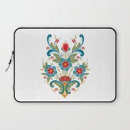 Nordic Rosemaling Laptop Sleeve