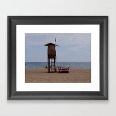Salvataggio Framed Art Print