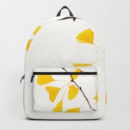 gingko biloba branch Backpack