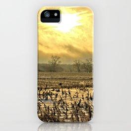Overcast Sunrise 2 iPhone Case