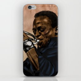 Miles, jazz will never be the same iPhone Skin