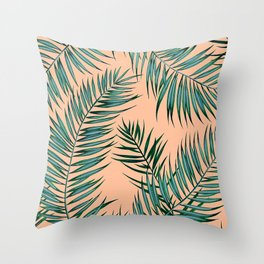 Shade in Apricot Throw Pillow