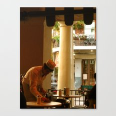 Cafe Du Monde NOLA. Canvas Print