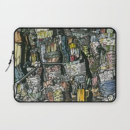 Dirty dishes Laptop Sleeve