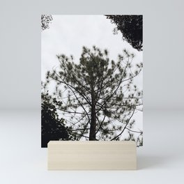 Tree Silhouette Mini Art Print