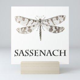 DRAGONFLY SASSENACH Mini Art Print