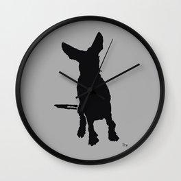 Lajka Podenco 5 Wall Clock