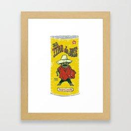 El Tiro de Jose Framed Art Print