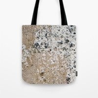 concrete Tote Bags featuring Concrete by Herzensdinge