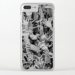 The White Temple - Thailand - 006 Clear iPhone Case