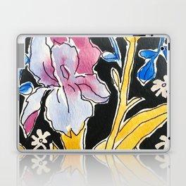 Iris Floral Laptop & iPad Skin