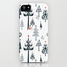 Christmas Tree Forest iPhone (5, 5s) Slim Case