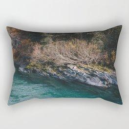 Glacial Stream II Rectangular Pillow