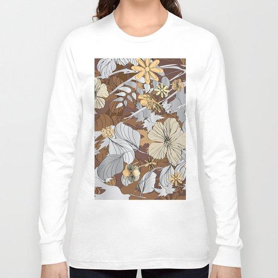 Sketch Garden IX Long Sleeve T-shirt