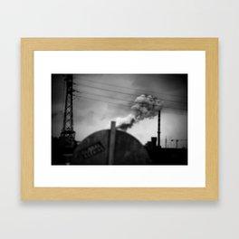 global warning Framed Art Print