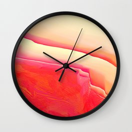 Strawberry Vanilla Wall Clock