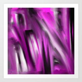 Unbalanced - Pale Abstract 3 Art Print