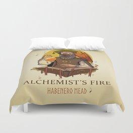 Alchemist's Fire Habanero Mead Duvet Cover