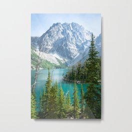 Lake Colchuck Metal Print