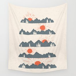 Sunrises... Sunsets... Wall Tapestry