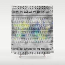 ETHNO PATTERN Funky Shower Curtain