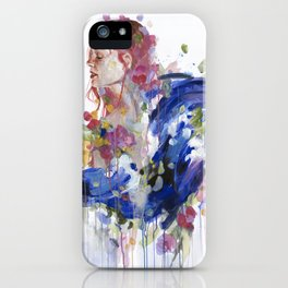 Bouquet of Emotions iPhone Case