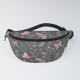 Insects Frolicking in the Night Fanny Pack