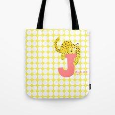 j for jaguar Tote Bag