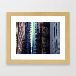 Chicago Lines Framed Art Print