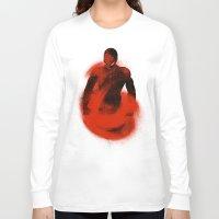 sandman Long Sleeve T-shirts featuring Enter Sandman by nicebleed