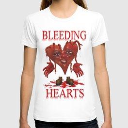 Bleeding Hearts .. gothic fantasy T-shirt