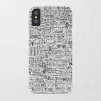 lyrics iPhone & iPod Cases featuring TS lyrics by Faith
