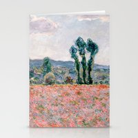 Stationery Cards featuring Monet by Palazzo Art Gallery