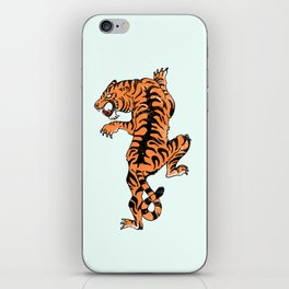 Tiger style iPhone Skin