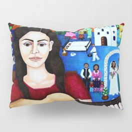 "Violeta Parra - ""Black wedding"" Pillow Sham"